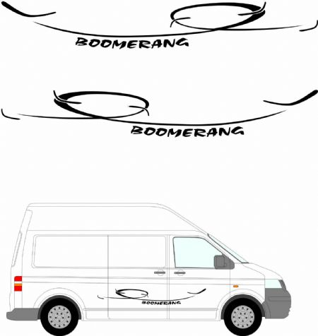 (No.261) MOTORHOME GRAPHICS STICKERS DECALS CAMPER VAN CARAVAN UNIVERSAL FITTING